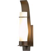 Hubbardton Forge 304210-1018 Sea Coast 1 Light 15 inch Coastal Mahogany Outdoor Sconce Small