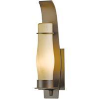 Hubbardton Forge 304210-1019 Sea Coast 1 Light 15 inch Coastal Mahogany Outdoor Sconce Small