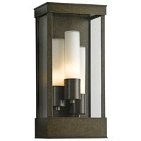 Hubbardton Forge 304325-1007 Portico 3 Light 18 inch Coastal Bronze Outdoor Sconce