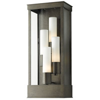 Hubbardton Forge 304330-1008 Portico 4 Light 23 inch Coastal Dark Smoke Outdoor Sconce Large