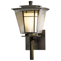 Hubbardton Forge 304810-1007 Beacon Hall 1 Light 14 inch Coastal Bronze Outdoor Sconce Small