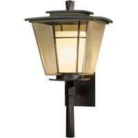 Hubbardton Forge 304820-1008 Beacon Hall 1 Light 23 inch Coastal Dark Smoke Outdoor Sconce Large
