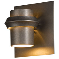 Hubbardton Forge 304901-1008 Twilight 1 Light 7 inch Coastal Dark Smoke Outdoor Sconce Small