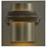 Hubbardton Forge 304905-1008 Twilight 1 Light 11 inch Coastal Dark Smoke Outdoor Sconce Large