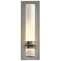Hubbardton Forge 304930-1027 Rook 1 Light 14 inch Coastal Burnished Steel Outdoor Sconce Small