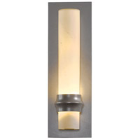 Hubbardton Forge 304930-1028 Rook 1 Light 14 inch Coastal Burnished Steel Outdoor Sconce Small
