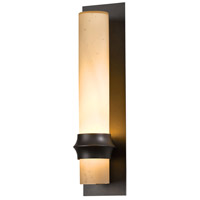 Hubbardton Forge 304933-1025 Rook 1 Light 20 inch Coastal Dark Smoke Outdoor Sconce