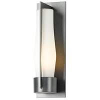 Hubbardton Forge 305003-1027 Harbor 1 Light 16 inch Coastal Burnished Steel Outdoor Sconce