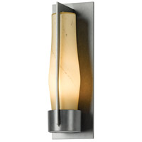 Hubbardton Forge 305003-1028 Harbor 1 Light 16 inch Coastal Burnished Steel Outdoor Sconce