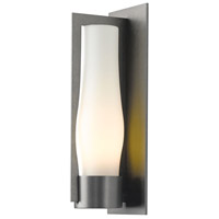 Hubbardton Forge 305005-1027 Harbor 1 Light 20 inch Coastal Burnished Steel Outdoor Sconce Large