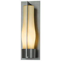 Hubbardton Forge 305005-1028 Harbor 1 Light 20 inch Coastal Burnished Steel Outdoor Sconce Large