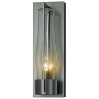 Hubbardton Forge 305005-1029 Harbor 1 Light 20 inch Coastal Burnished Steel Outdoor Sconce Large
