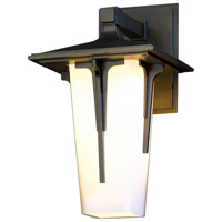 Hubbardton Forge 305705-1027 Modern Prairie 1 Light 13 inch Coastal Burnished Steel Outdoor Sconce