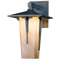 Hubbardton Forge 305710-1028 Modern Prairie 1 Light 16 inch Coastal Burnished Steel Outdoor Sconce Large