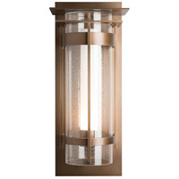 Hubbardton Forge 305999-1004 Banded 1 Light 26 inch Coastal Bronze Outdoor Sconce