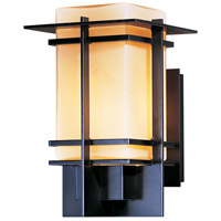 Hubbardton Forge 306001-1025 Tourou 1 Light 11 inch Coastal Dark Smoke Outdoor Sconce Small