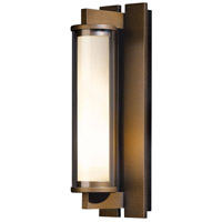 Hubbardton Forge 306453-1007 Fuse 1 Light 17 inch Coastal Bronze Outdoor Sconce