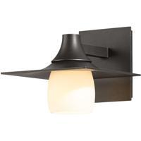 Hubbardton Forge 306560-1024 Hood 1 Light 7 inch Coastal Dark Smoke Outdoor Sconce
