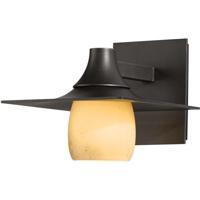 Hubbardton Forge 306560-1025 Hood 1 Light 7 inch Coastal Dark Smoke Outdoor Sconce