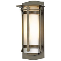 Hubbardton Forge 307105-1014 Sonora 1 Light 14 inch Coastal Bronze Outdoor Sconce Small