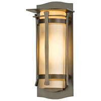 Hubbardton Forge 307105-1015 Sonora 1 Light 14 inch Coastal Bronze Outdoor Sconce Small