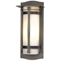 Hubbardton Forge 307115-1016 Sonora 1 Light 25 inch Coastal Dark Smoke Outdoor Sconce Large