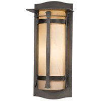 Hubbardton Forge 307115-1017 Sonora 1 Light 25 inch Coastal Dark Smoke Outdoor Sconce Large