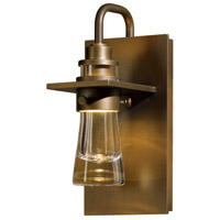 Hubbardton Forge 307710-1031 Erlenmeyer 1 Light 10 inch Coastal Bronze Outdoor Sconce Small