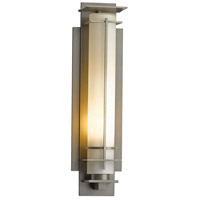 Hubbardton Forge 307858-1027 After Hours 1 Light 16 inch Coastal Burnished Steel Outdoor Sconce Small