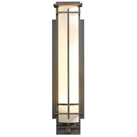 Hubbardton Forge 307861-1024 After Hours 1 Light 27 inch Coastal Dark Smoke Outdoor Sconce Large