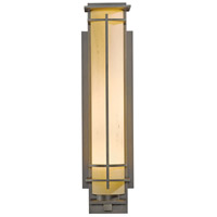 Hubbardton Forge 307861-1025 After Hours 1 Light 27 inch Coastal Dark Smoke Outdoor Sconce Large