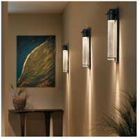 Hubbardton Forge 307920-1036 Airis 1 Light 24 inch Coastal Burnished Steel Outdoor Sconce Medium