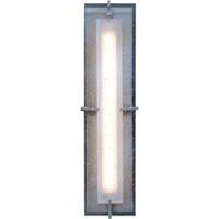 Hubbardton Forge 308015-1009 Ethos LED 22 inch Coastal Burnished Steel Outdoor Sconce Large