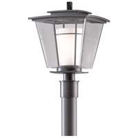 Hubbardton Forge 344820-1008 Beacon Hall 1 Light 18 inch Coastal Dark Smoke Outdoor Post Light