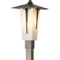 Hubbardton Forge 345715-1018 Modern Prairie 1 Light 20 inch Coastal Mahogany Outdoor Post Light