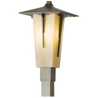 Hubbardton Forge 345715-1022 Modern Prairie 1 Light 20 inch Coastal Bronze Outdoor Post Light