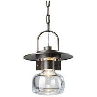 Hubbardton Forge 363003-1007 Mason 1 Light 8 inch Coastal Bronze Outdoor Hanging Lantern