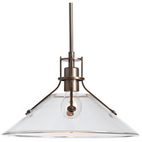 Hubbardton Forge 363009-1027 Henry 1 Light 14 inch Coastal Bronze Outdoor Pendant