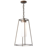 Hubbardton Forge 363020-1001 Loft 1 Light 13 inch Natural Iron Outdoor Pendant