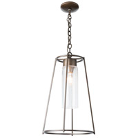 Hubbardton Forge 363020-1009 Loft 1 Light 13 inch Coastal Bronze Outdoor Pendant