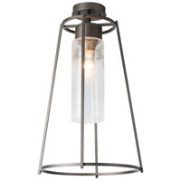 Hubbardton Forge 363025-1009 Loft 1 Light 13 inch Coastal Bronze Outdoor Semi-Flush