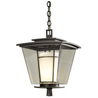 Hubbardton Forge 364820-1008 Beacon Hall 1 Light 12 inch Coastal Dark Smoke Outdoor Hanging Lantern