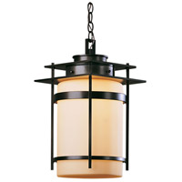 Hubbardton Forge 365893-1022 Banded 1 Light 11 inch Coastal Bronze Outdoor Hanging Lantern Medium