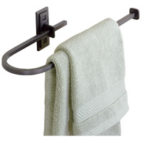 Metra 15 inch Natural Iron Towel Holder