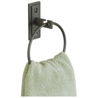 Metra 5 inch Black Towel Holder