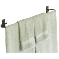 Metra 29 inch Natural Iron Towel Holder
