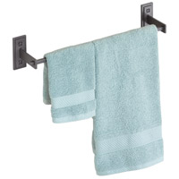 Metra 18 inch Black Towel Holder