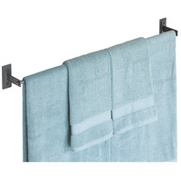 Metra 34 inch Natural Iron Towel Holder
