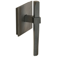 Beacon Hall 3 inch Black Towel Holder