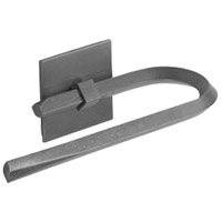 Beacon Hall 9 inch Black Towel Holder